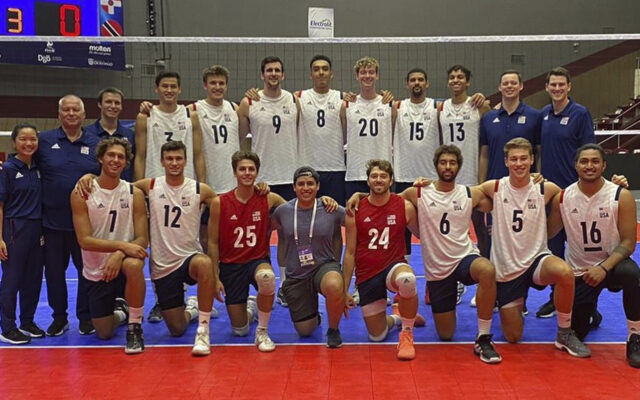 Kyle Dagostino Finishes Fifth at the 2021 NORCECA Championship